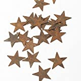 Bulk Package of 100 Primitive Rusty Tin Stars for Accenting, Crafting and Creating