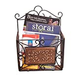 naaz Wood Arts Single Magazine Rack Single Pocket Box for Magazines, Papers, Files, Literature, Pamphlets, Document (Pack of 16)