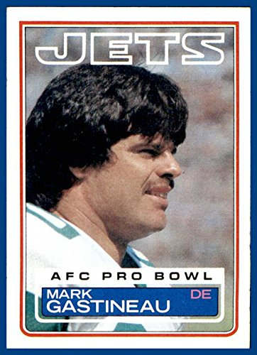 1983 Topps #341 Mark Gastineau NEW YORK JETS EAST CENTRAL (ex-mt+)