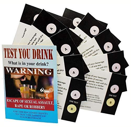Ghb Drug Test - Test You Drink Kit - (10