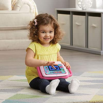 LeapFrog 2-in-1 LeapTop Touch, Pink: Toys & Games