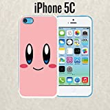 kirby phone case 5c - iPhone Case Cartoon Girl Cute Kirby LOL for iPhone 5c Plastic Black (Ships from CA)