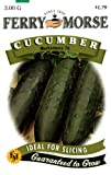 Ferry-Morse 1277 Cucumber Seeds, Marketmore 76 (3 Gram Packet), Appliances for Home