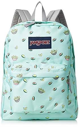 JanSport SuperBreak Backpack (Avocado Party)