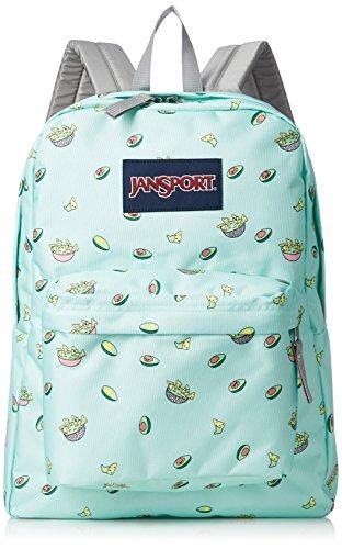 JanSport JS00T50146U Superbreak Backpack (Avocado Celebration) – DiZiSports Store