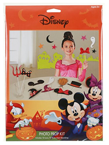 Disney Mickey & Friends Halloween Photo Prop Kit ()