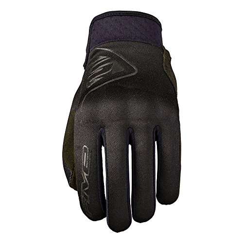Five5 Globes Womens Textile Gloves Black SM