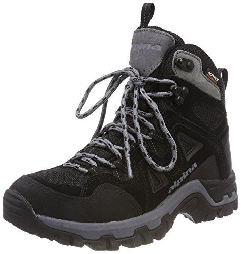 Rise 680405 Adults' Schwarz 1 High Boots Alpina Unisex Schwarz Hiking wTfIqEfPR