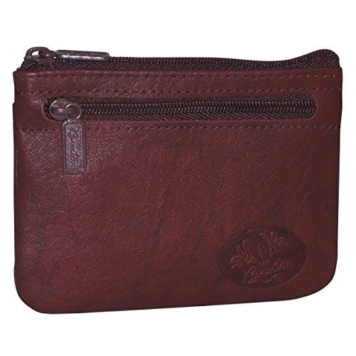 Buxton Heiress Pik-Me-Up I.D. Coin/Card Case, magenta purple