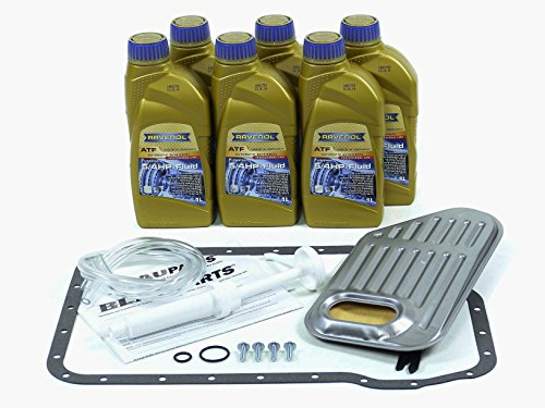 BLAU F2A1007-B Audi A6 ATF Automatic Transmission Fluid Filter Kit - 1998-04 w/ 6 Cylinder Engine (6 Cylinder Automatic Transmission)