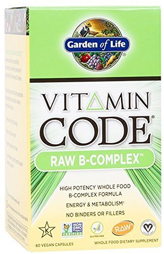 Garden of Life - Vitamin Code Raw B-Complex - 60 Capsules