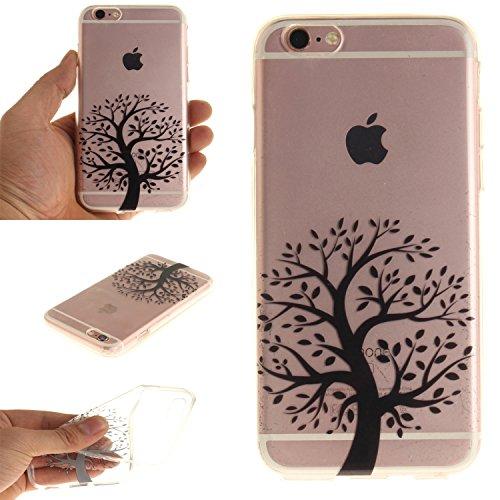 "MOONCASE iPhone 6 / 6S Hülle Case,Slim Handyhülle Schutzhülle Rutschfestem TPU Soft Backcover Bumper Case für iPhone 6S / iPhone 6 (4.7 "") TX03"
