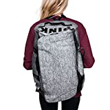 Victoria's Secret PINK Backpack Duffle Bag, Marl Gray