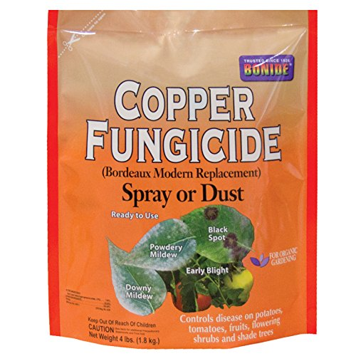 Bonide Chemical 772 Number-4 Copper Dust or Spray,4 lbs