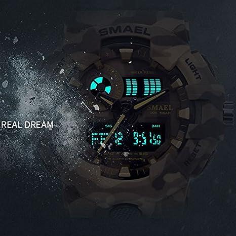 Amazon.com: smael nuevo reloj Militar de Camuflaje deporte ...