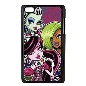 Customiz Cartoon Game Monster High Back Case for ipod Touch 4 JNIPOD4-1405