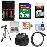 Essentials Bundle for Nikon Coolpix B500, L830, L840 Camera with 4 AA Batteries & Charger + 16GB Card + Case + Tripod + HDMI Cable + Accessory Kit