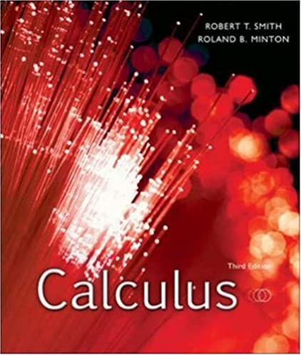 calculus robert smith roland minton 9780073312705 amazon com books rh amazon com smith minton calculus solution manual pdf Step by Step Calculus Solutions