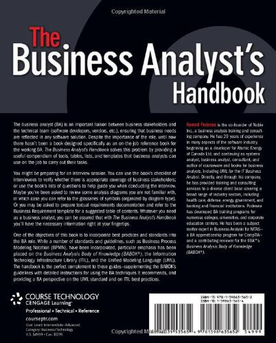 The Business Analysts Handbook Pdf