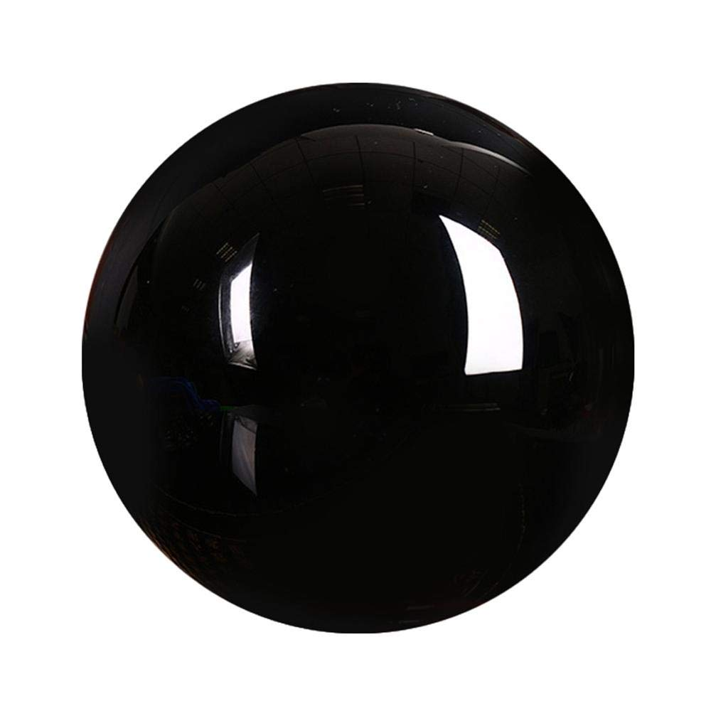 Gold Happy 3cm Clear Natural Quartz Crystal Sphere Balls Black Obsidian Sphere Crystal Ball Home Decoration