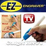 Generic EZ Gadget Hero's Engraver Etching Engraving Pen for All Glass Metal Plastic Wood Engrave It