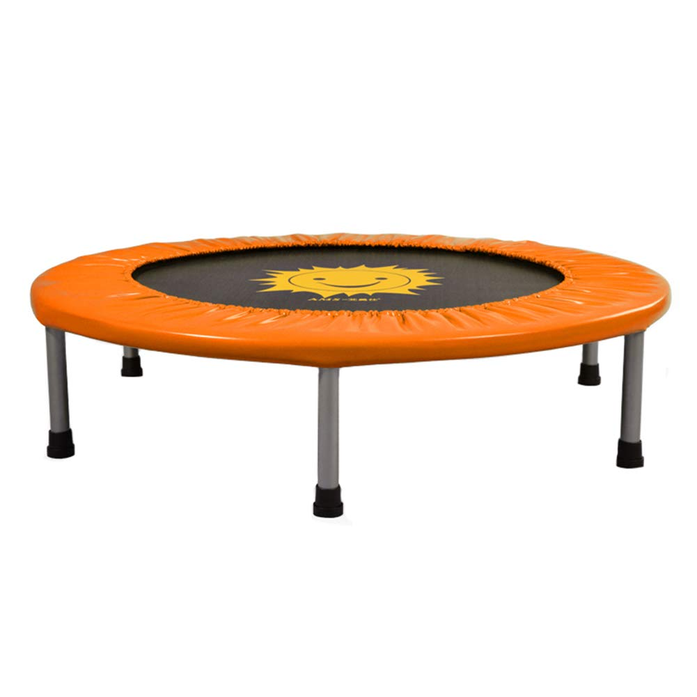Trampolin, Indoor-Trampolin, Übungs-Trampolin für Kinder, Mini-Fitness-Trampolin - Max Load 200KG (Farbe : Orange, größe : 36 Inch)