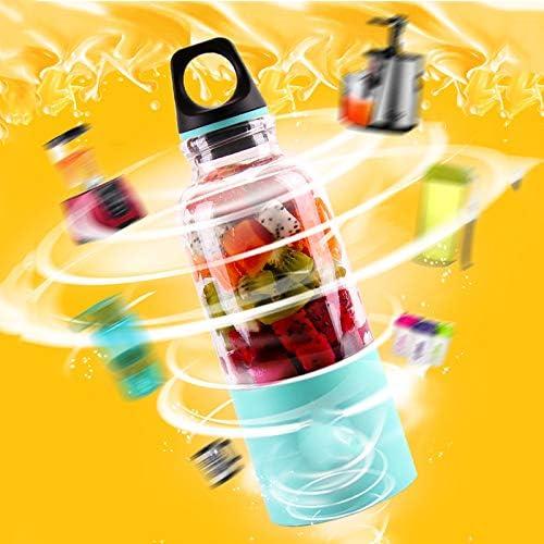 HMY Portátil USB Exprimidor Copa Recargable Eléctrico Automático del Bingo Verduras Zumo De Fruta Herramientas del Fabricante Copa Blender Mixer Bottle500ml,C