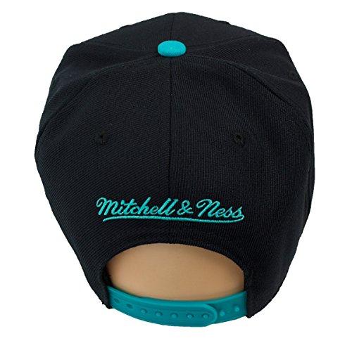 para Mitchell Ness Negro Talla Negro Hombre de única Béisbol Gorra amp; nX4XwqrS
