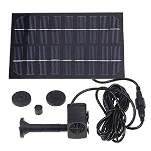 SaySure–solar brushless Pump for water Cycle/Pond Fountain