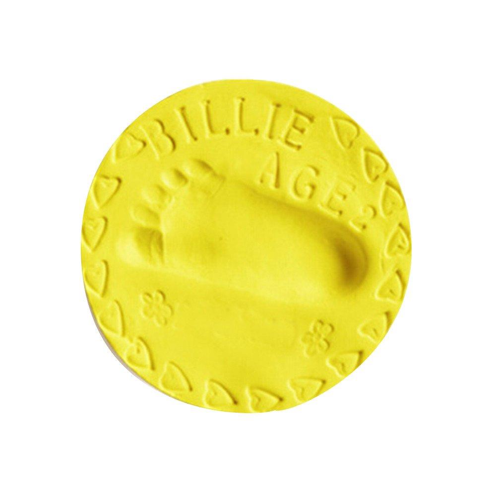 Blau Komise Lufttrocknendes Baby Soft Clay Handabdruck Fu/ßabdruck Impressum Casting Fingerprint 20g
