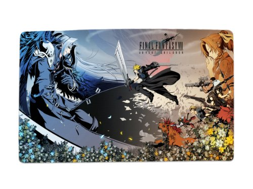 A Wide Variety of Final Fantasy Characters Desk & Mouse Pad Table Play Mat (FF7 / FFVII Cloud Strife & Sephiroth & Aerith - Rates Epacket