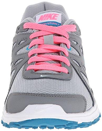 Nike Mens Revolution 3 Loopschoen Grijs / Roze / Turquoise