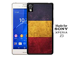 Chad National Vintage Flag Pride Phone Case Cover Custom Designs for Sony Xperia Z3