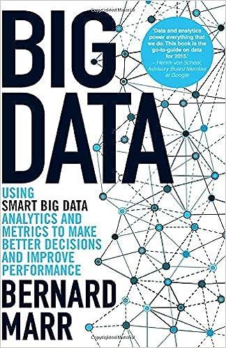 Big Data - Using SMART Big Data, Analytics and Metrics To