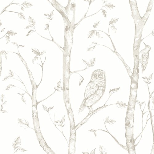 A-Street Prints 2716-23862 Neptune Taupe Forest Wallpaper