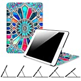 ipad 3 gem cases - Fintie iPad 9.7 Inch 2017 Case - [Multiple Secure Angles] Slim Shell Magnetic Kickstand Protective Cover with Auto Sleep/ Wake Feature for Apple iPad 9.7