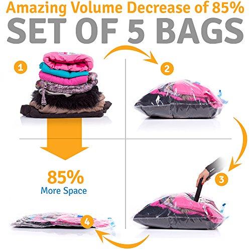 reusable vacuum storage bags - 2