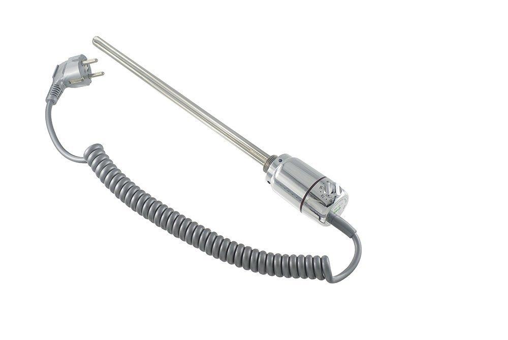 Cini Varilla de calefacción Calefacción tinta Resistencia para calentadores Alpha-C - Radiador de baño con regulador de temperatura electrónico tipo GT ...