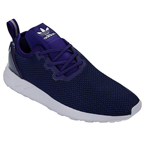 adidas Originals Herren ZX Flux Asymmetrical Sportschuhe Lila