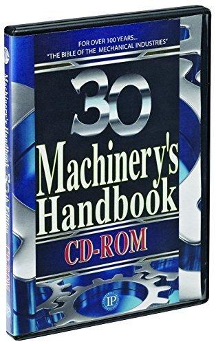 Top machinery handbook 30th edition cd rom