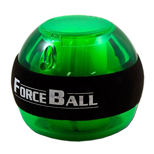 Force Ball Power Gyroscope - SODIAL(R) New Force Ball Power Gyroscope Wrist Ball Arm Exercise BallColor:Green by SODIAL(R)