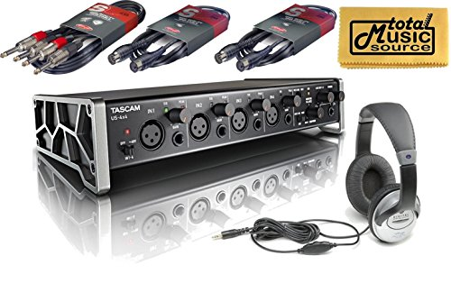 Tascam US-4X4 Pack USB 4-in 4-Out Audio/MIDI Recording