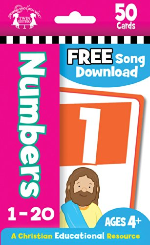 Numbers Christian 50-Count Flash Cards (I'm Learning the Bible Flash Cards)