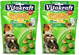 (2 Pack) Vitakraft Hamster Drops Milk & Honey Treat ( 5.3 oz. Per Pack)