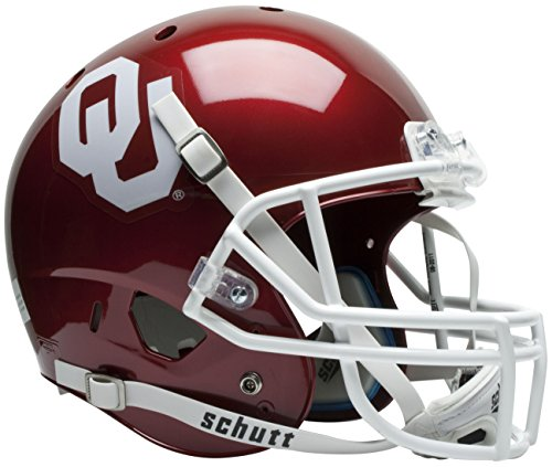 Schutt NCAA Oklahoma Sooners Replica XP Helmet (Oklahoma Replica Helmet)
