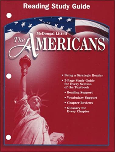 Amazon the americans reading study guide 9780618175628 the americans reading study guide 1st edition fandeluxe Images
