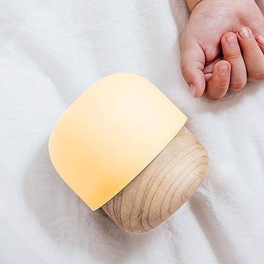 Amazon.com: IDMIX USB lámpara de noche, brillo ajustable luz ...