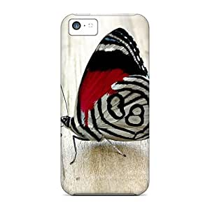 High Quality Butterfly Case For Iphone 5c / Perfect Case
