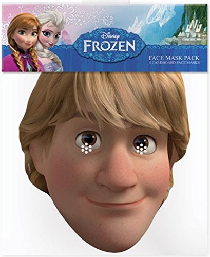 Official Disney Kristoff from Frozen Card Face Mask]()