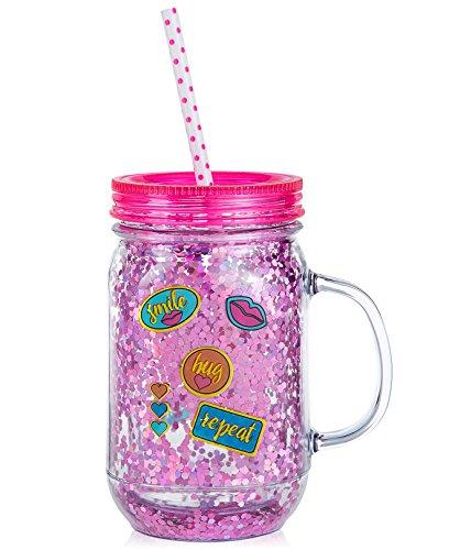 quart mason jars with handles - 9